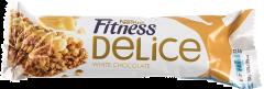 Baton de cereale cu ciocolata alba Fitness Delice Nestle 22.5g