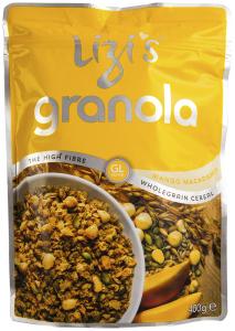 Lizi's Granola Mango si Nuci de macadamia 500g
