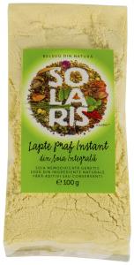 Lapte praf instant din soia integrala Solaris 100g