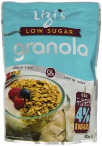 Lizi's Granola cu continut scazut de zahar 500g