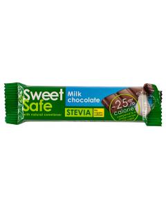 Ciocolata cu lapte si stevia Sweet & Safe 25g