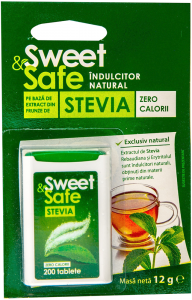 Indulcitor natural Sweet & Safe 12g