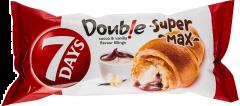 Croissant cu umplutura de cacao si vanilie 7Days Double Super Max