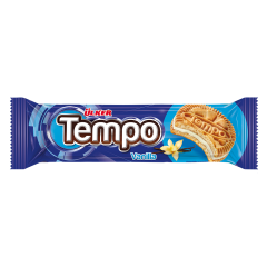 Biscuiti cu crema vanilie Tempo 54g