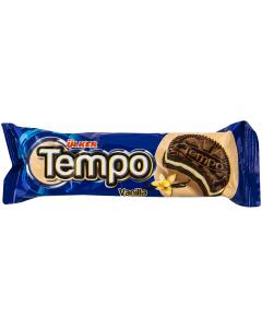 Biscuiti cacao cu crema de vanilie Tempo 54g