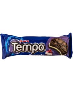 Biscuiti cacao cu crema de branza Tempo 54g