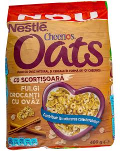 Fulgi cu ovaz integral si cereale in forma de o Nestle 400g