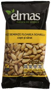 Miez seminte floarea soarelui copt si sarat Elmas 50g