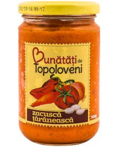 Zacusca taraneasca Bunatati de Topoloveni 300g