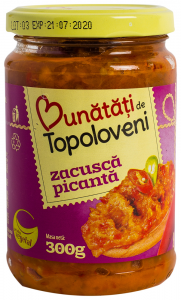 Zacusca picanta Bunatati de Topoloveni 300g