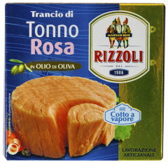 File ton rosu in ulei de masline Rizzoli 185g