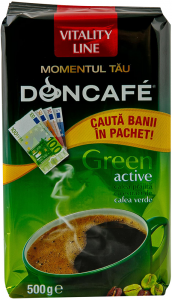 Cafea macinata Doncafe Green Active Vitality Line 500g