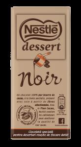 Ciocolata neagra Nestle dessert noir 205g
