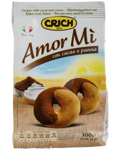 Fursecuri Amor Mi cu frisca si cacao Crich 300g