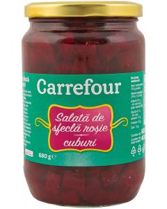 Salata de sfecla rosie Carrefour 680g