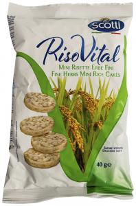 Mini Rice cakes cu ierburi Scotti Riso Vital 40g