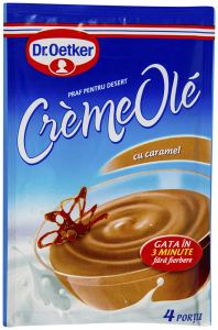 Praf pentru desert cu caramel Dr. Oetker CremeOle80g