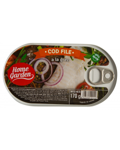 Conserva cod file Home Garden 170g