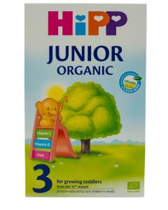 Lapte organic Junior 3 Hipp 500G