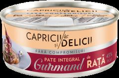 Pate integral de rata Capricii si Delicii Gurmand 115g