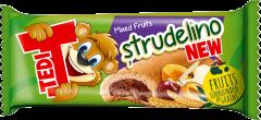Biscuit cu umplutura de fructe Tedi Strudelino 21g
