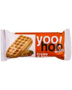 Vafa cu crema de caise Yoo Hoo 50g