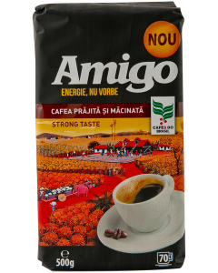 Cafea macinata Amigo Strong Taste 500g