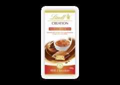 Ciocolata creme brulee Lindt 100g