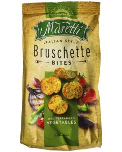 Bruschette cu aroma de legume mediteraneene Maretti 70g