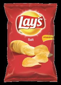 Lay's Salt, chipsuri din cartofi cu sare, 100 g