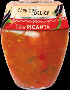 Zacusca picanta Capricii si Delicii 290g