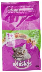 Hrana pisici 1+ani cu miel Whiskas 1.4kg