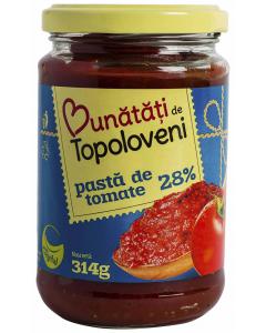 Pasta de tomate 28% Bunatati de Topoloveni 314ml