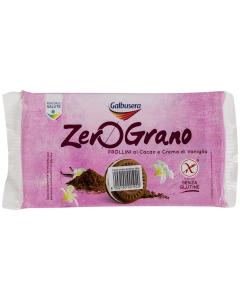 Biscuiti cacao cu crema vanilie Galbusera ZeroGrano 160g