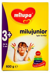 Lapte fortifiat Milupa Milujunior 3+ 600g