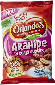 Arahide in coaja subtire Orlando's 150g