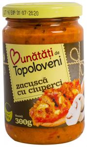 Zacusca cu ciuperci Bunatati de Topoloveni 300g