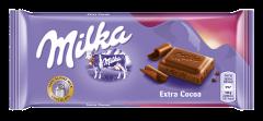 Ciocolata cu lapte si cacao Milka 100g