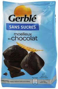 Madlene ciocolata, fara zahar Gerble Glucoregul 196g