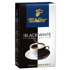 Cafea prajita si macinata Tchibo Black & White 250g