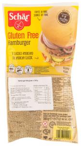 Chifle hamburger fara gluten Schar 4x75g