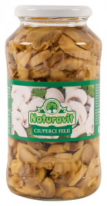Ciuperci felii Naturavit 720ml