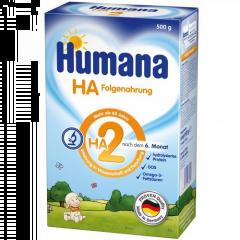 Lapte praf Humana HA2 500g