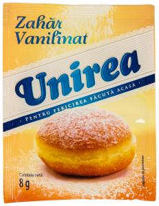 Zahar vanilinat Unirea 8g