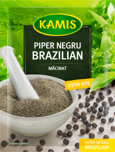 Piperul negru brazilian macinat Kamis Specialite 15g