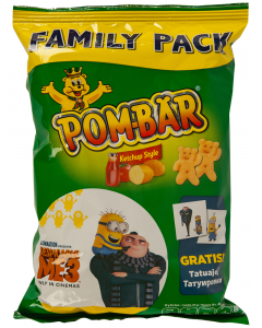 Chips cu ketchup Pom-Bar 65g