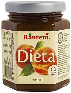 Gem de piersici Raureni Dieta 220g