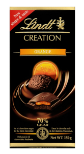 Ciocolata Coulis d'Orange Lindt 150G