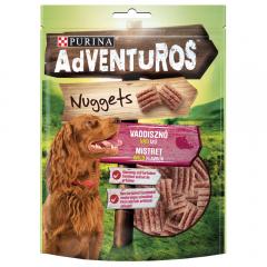 Nuggets cu aroma de mistret pentru caini Adventuros 90g