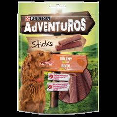 Nuggets cu aroma de bivol pentru caini Adventuros 120g